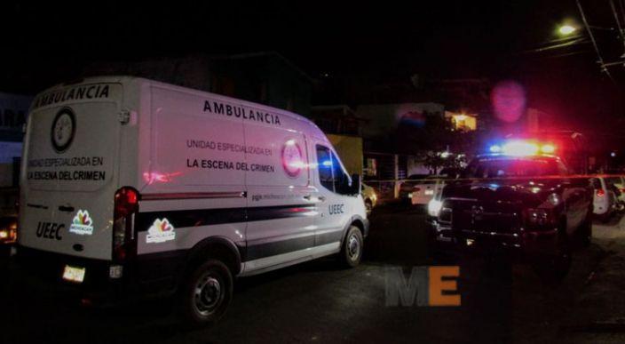 Muere a balazos nieto de Jesús Vallejo, ex presidente municipal de Apatzingán, Michoacán
