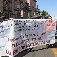 CNTE continúa en análisis de memorándum de AMLO y la iniciativa de reforma educativa