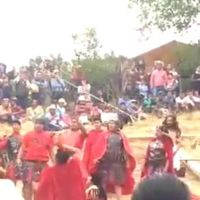 """Cae cruz con todo y actor que representaba a """"Dimas"""", en el Estado de México (Video)"""
