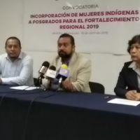 ICTI entregará becas a mujeres indígenas para estudios de posgrado, lanzan convocatoria