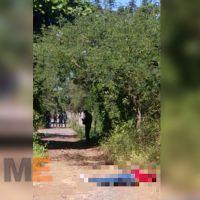"""Localizan el cuerpo de un hombre """"encobijado"""", en Tuzantla, Michoacán"""