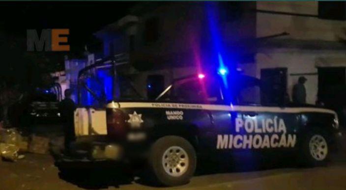 Muere un hombre al ser atacado a balazos, en Uruapan, Michoacán