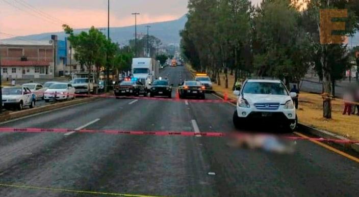 Mujer muere atropellada en el Libramiento Norte de Morelia