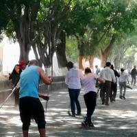 SEE Michoacán realiza labores de limpieza para prevenir inundaciones en temporada de lluvias