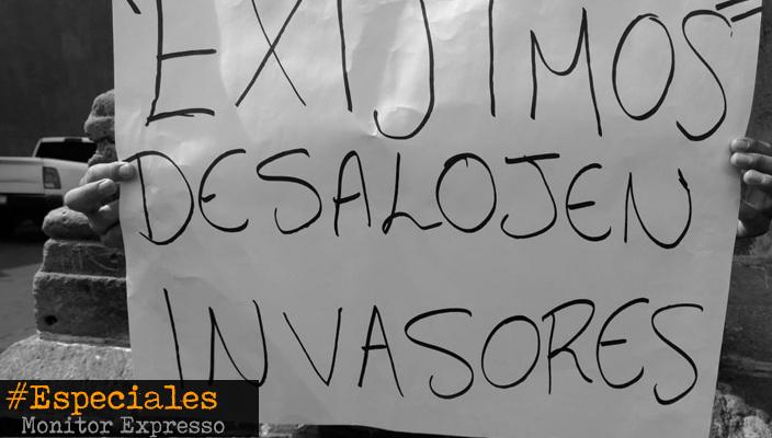 Despojo de terrenos en Caja Grande entre el negocio de líderes y omisión de autoridades
