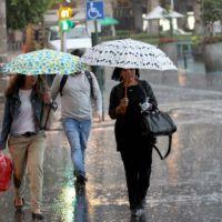 Lluvias fuertes y muy fuertes en varios estados del país