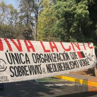 CNTE se manifiesta por tercer día consecutivo; exigen liberación de normalistas