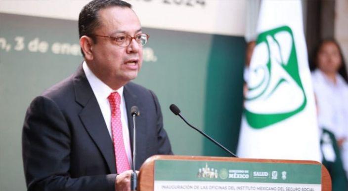 Director General del IMSS Germán Martínez, presenta su renuncia