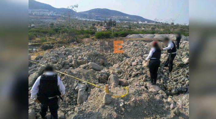 Encuentran huesos humanos cerca del fraccionamiento Tres Marías, en Morelia, Michoacán