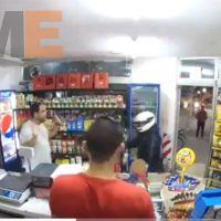 |Video| Rata se da un tiro el solito tras intentar robar