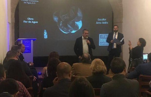 """Presenta Raúl Morón """"Itsï"""", el proyecto que busca rescatar el Lago de Cuitzeo por medio del arte"""