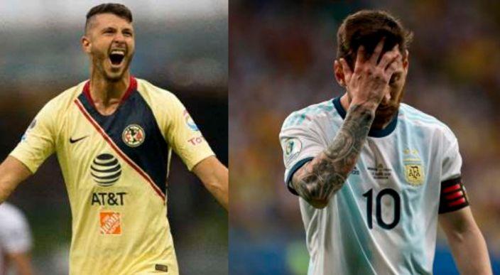 """Transmisión de la Copa América pone a """"Guido Messi"""" en la alineación de Argentina"""