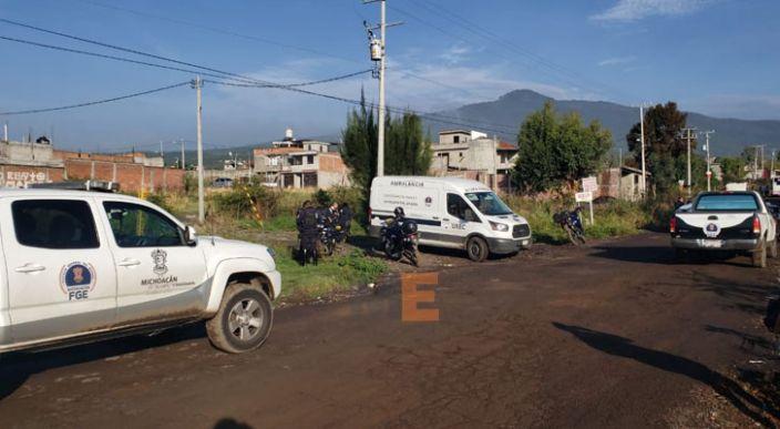 Encuentran otro cuerpo decapitado en Morelia, también tenía un narco mensaje