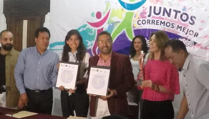 Ayuntamiento de Pátzcuaro llevará carrera atlética inclusiva para personas con discapacidad