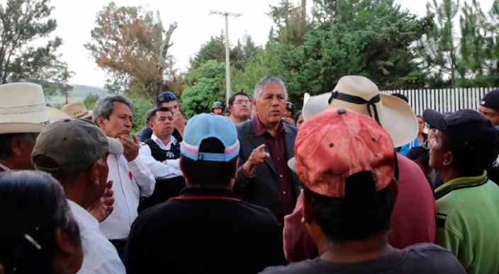 Liberan a trabajadores del Ayuntamiento de Morelia y exhortan a los habitantes de Teremendo al diálogo