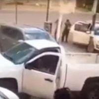  Vídeo  por la espalda, así atacaron Sicarios a Ministeriales en Irapuato Guanajuato