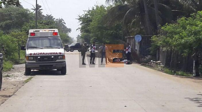 Matan a un motociclista en Playa Azul, Lázaro Cárdenas