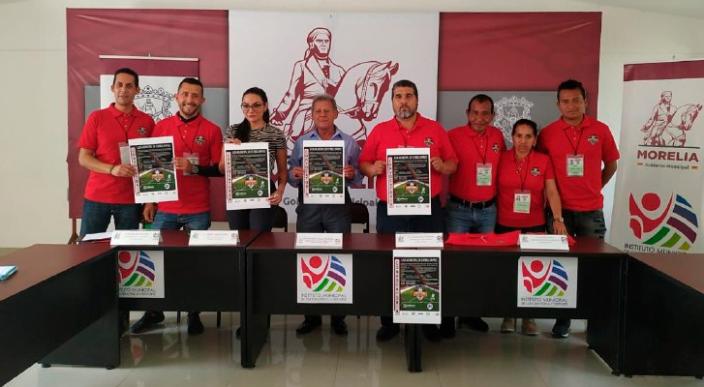 Presentan la Primera Liga Municipal de Fútbol Rápido en Morelia, Michoacán