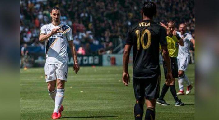 """Zlatan Ibrahimovic se considera """"por mucho"""", mejor jugador que Carlos Vela"""