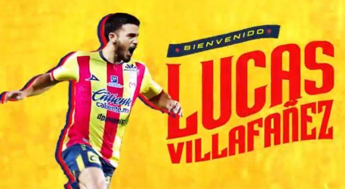 Monarcas Morelia  presenta a su nuevo refuerzo: Lucas Villafañez
