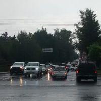 Lluvias intensas en el occidente de México