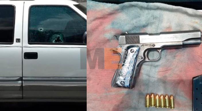 Pistolero que disparó contra un vehículo en Uruapan es detenido