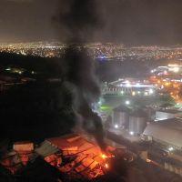 Prevén concluir con las labores para sofocar puntos rojos en el incendio de Ciudad Industrial