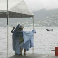 Se pronostican lluvias puntuales fuertes en el sureste del país y la Península de Yucatán