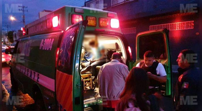Mujer y su hijo sufren accidente vial y quedan heridos, Zamora