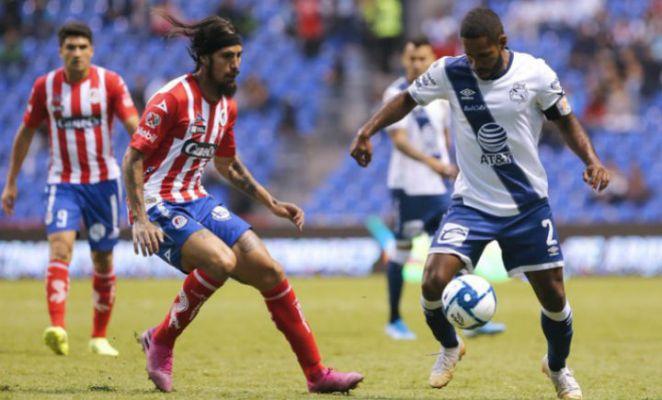 Atlético San Luis golea a Puebla a domicilio
