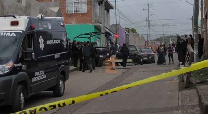 Un policía y un presunto delincuente muertos en balacera cerca del Estadio Morelos en Morelia