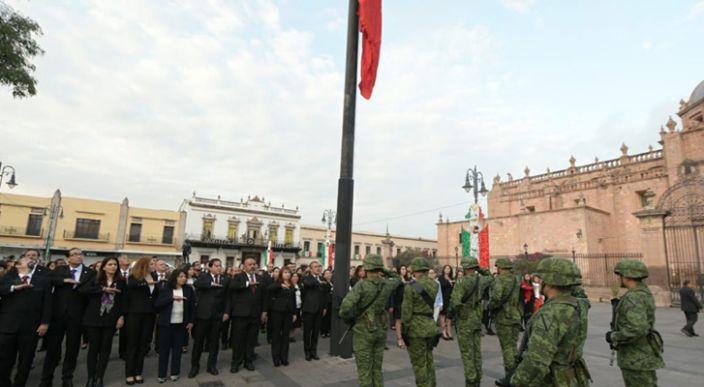 Gobierno de Morelia conmemora el CCIX Aniversario del Inicio de la Independencia Nacional