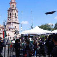 Lapiceros, bebidas embriagantes entre otras cosas te impedirán entrar al centro de Morelia