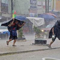 Lluvias fuertes, descargas eléctricas y rachas fuertes de viento en el occidente de México