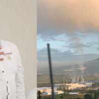 """Delegado del Gobierno Federal en Michoacán, """"descubre"""" empresa que contamina en Morelia"""