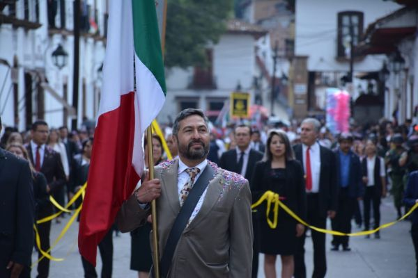 """Estoy orgulloso de ser mexicano"": Víctor Báez Ceja"