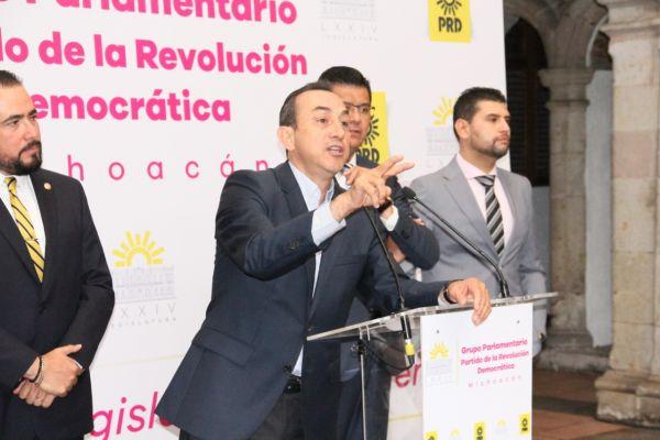 Advierte PRD Michoacán más reincorporaciones al partido