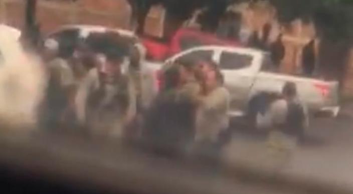 Reportan sujetos armados en la entrada de Atapan y a Santa Clara de Valladares (Video)