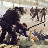 Protestas en España han dejado 182 heridos