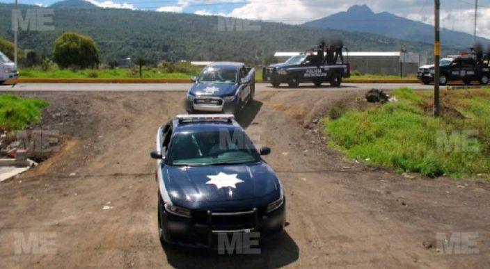 Pistoleros de grupos rivales se enfrentan a tiros en Tingüindín