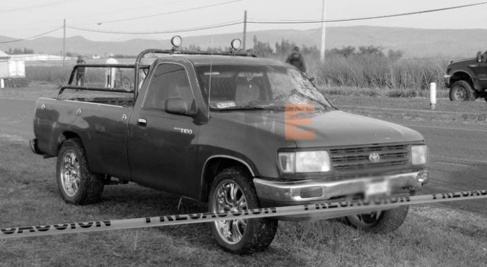 Ciclista fallece al ser arrollado por una camioneta en Jacona, Michoacán