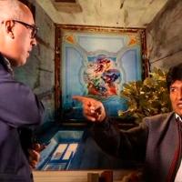 Evo Morales explota contra periodista, lo agrede y lo insulta (Video)