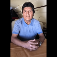 Evo Morales agradece al gobierno mexicano por salvarle la vida (Video)