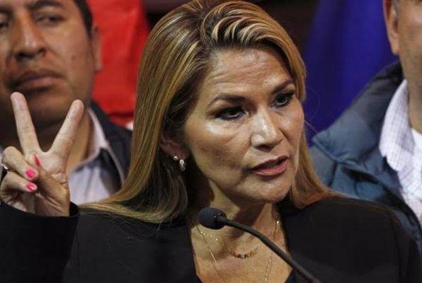 """""""Me dan pena los mexicanos"""", dice la nueva presidenta de Bolivia (Video)"""