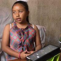 Niña de ocho años recibe premio en ciencias nucleares por su invento (Video)