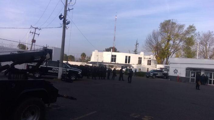 """Policías de la UROP se manifiestan por """"Banbajío"""", Patrón responde"""