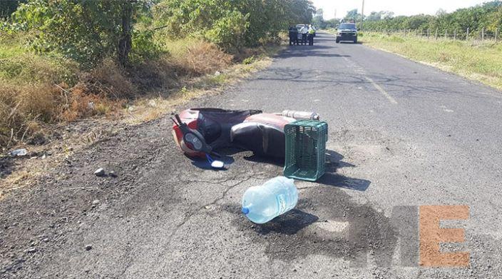 En Apatzingán matan a tiros a un motociclista