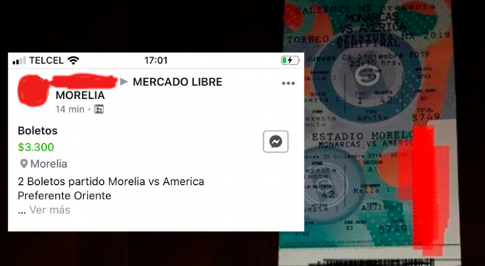 En más de 3 mil pesos revenden boletos para el Monarcas vs América