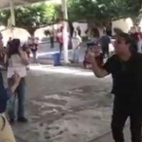 Maestra encaró a encargado de la SEE en Michoacán (video)