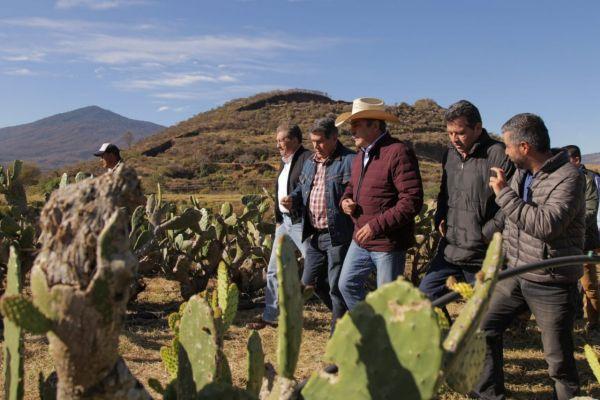 Raúl Morón consolida obras en el medio rural de Morelia